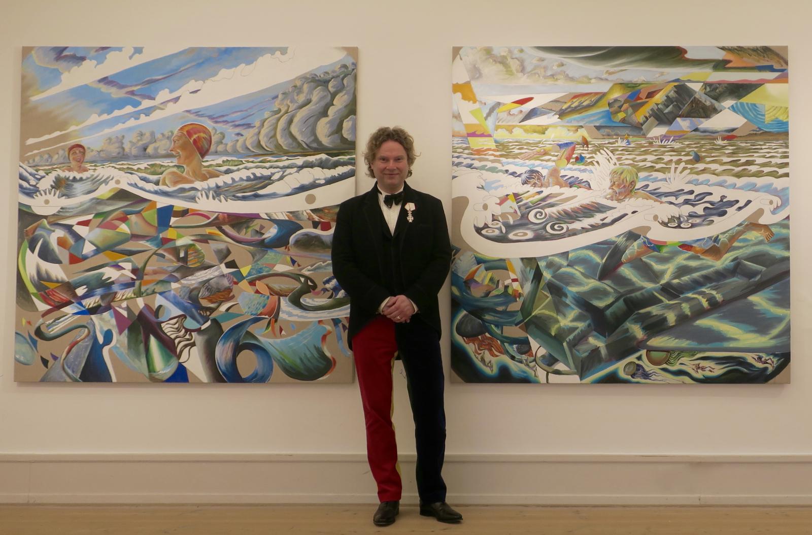 Ridderkors Martin Bigum dansk kunst ung