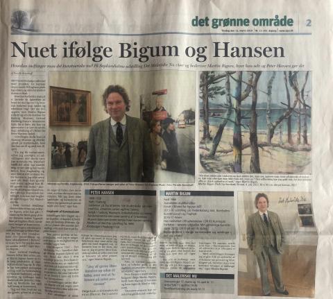 Martin Bigum, Peter Hansen, Sophienholm, art, Copenhagen, 2019