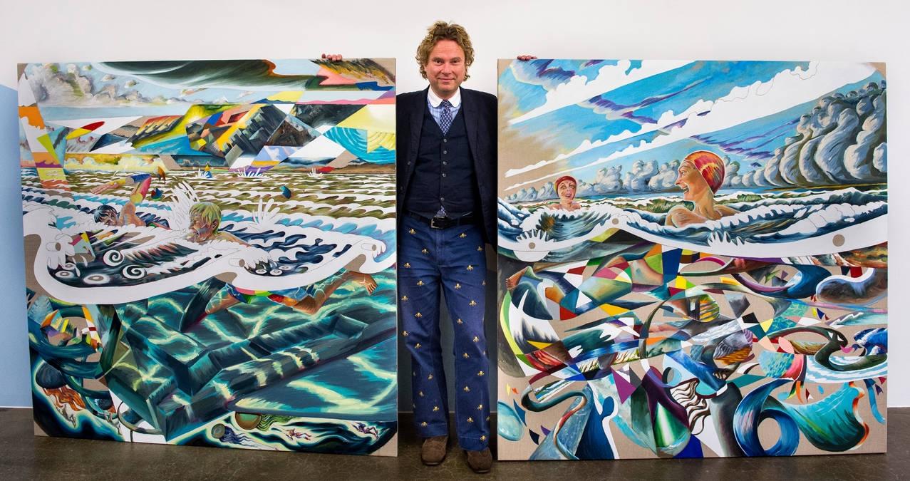 Martin Bigum, Charlotte Fogh Gallery, Århus, Aarhus, 2018