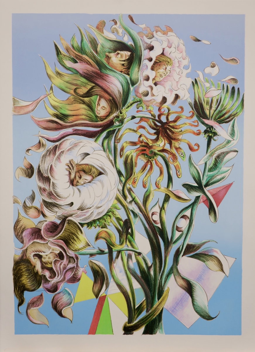 litography, edition copenhagen, atelier clot & bramsen, litografi, steinprent, Martin Bigum