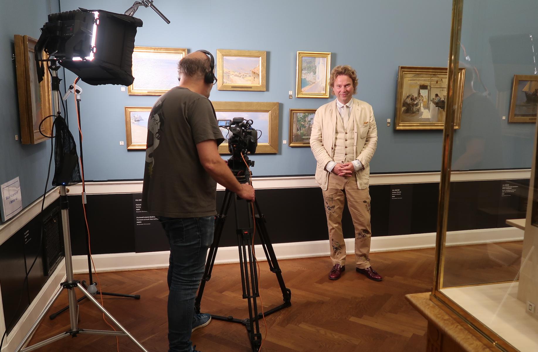 Martin Bigum DR2 Danmarks Radio Bente Scavenius Kunstquiz kunst kunsthistorie
