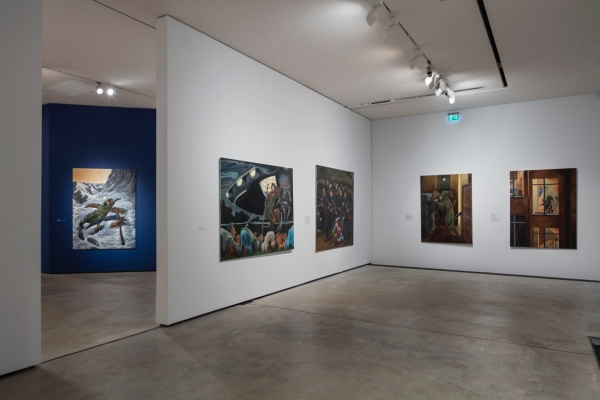 Millennium, Installation view, Arken- Museum of Modern Art, 2016-17, works from Millennium and The Homecoming