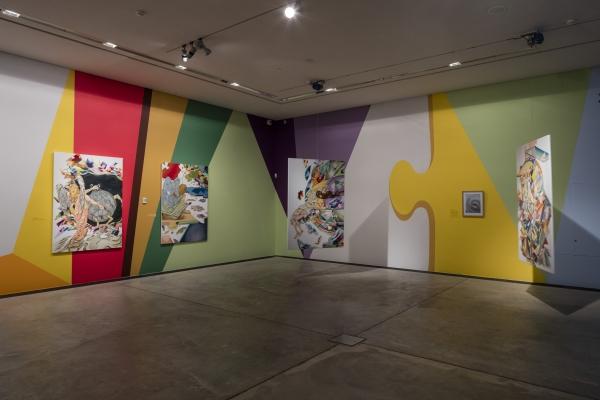 SynchroniCity, Installation view, Arken- Museum of Modern Art, 2016-17