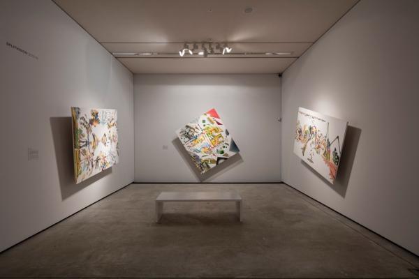 Splitvision, Rotorpaintings, Arken-Museum of Modern Art, 2016-17