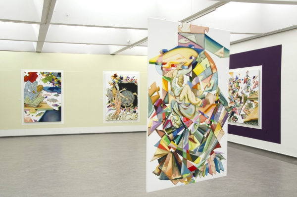 Structure Beneath Skin, installationview, Randers Kunstmuseum, 2012