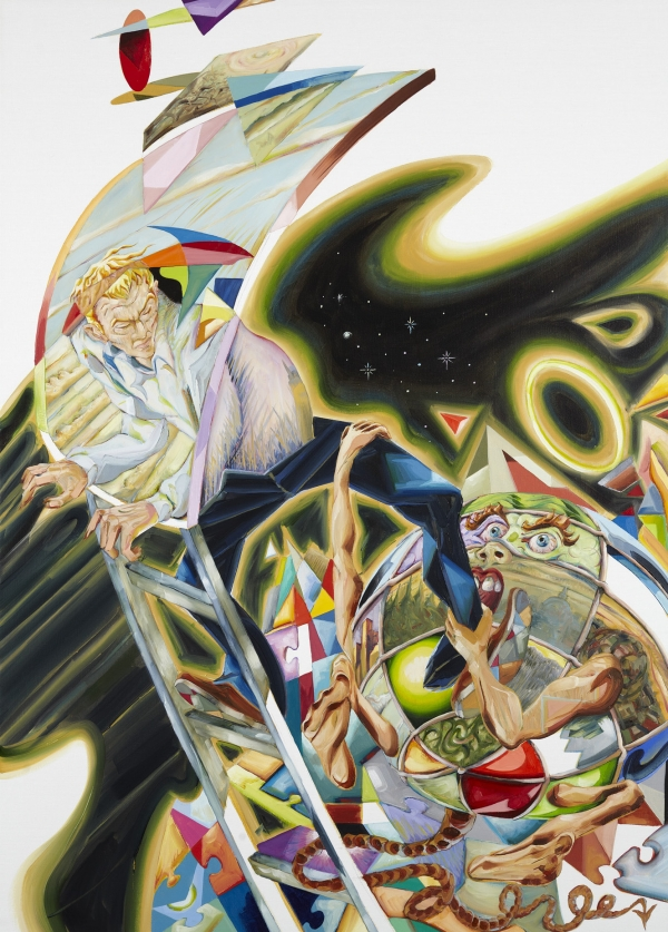 Gone to Earth, 2012, oil on canvas, 100 x 120 cm, private collection