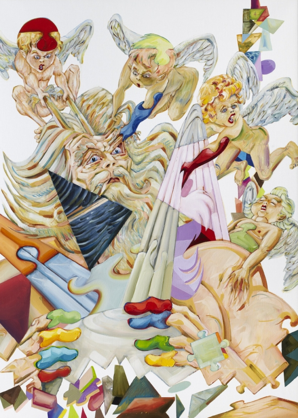 Utopia, 2010, oil on canvas, 100 x 120 cm