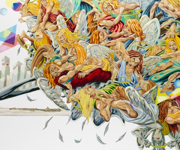 Jigsaw Falling Into Place, 2008-9, oil on canvas, 200 x 240 cm, private collection