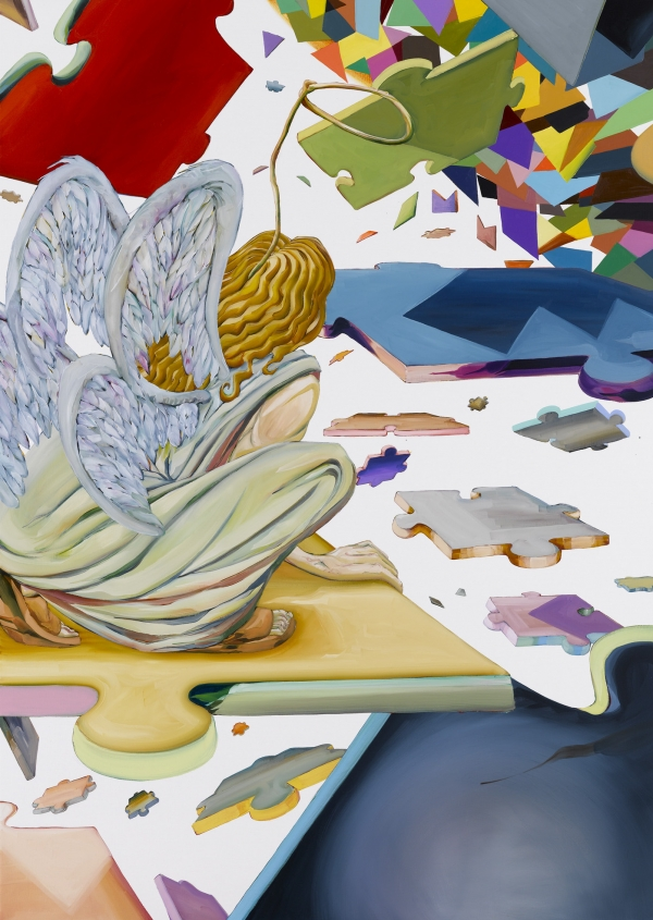 He, 2008-9, oil on canvas. 190 x 135 cm, private collection