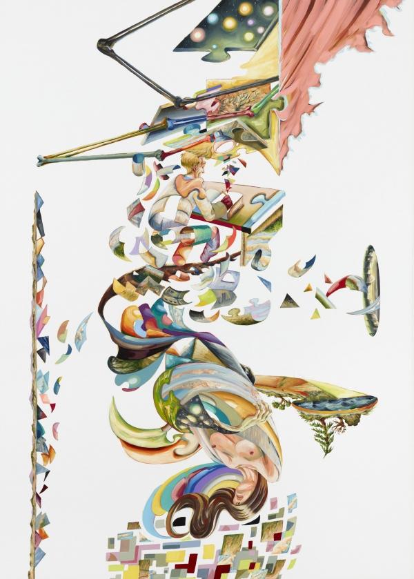 Wanderlust (Lystvandring), 2012, oil on canvas, 190 x 135 cm