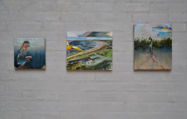 The Ocean, Himmerlands Kunstmuseum, Installation view, detail, 2017