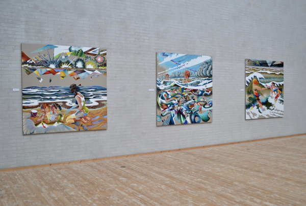 The Ocean, Himmerlands Kunstmuseum, Installation view, 2017
