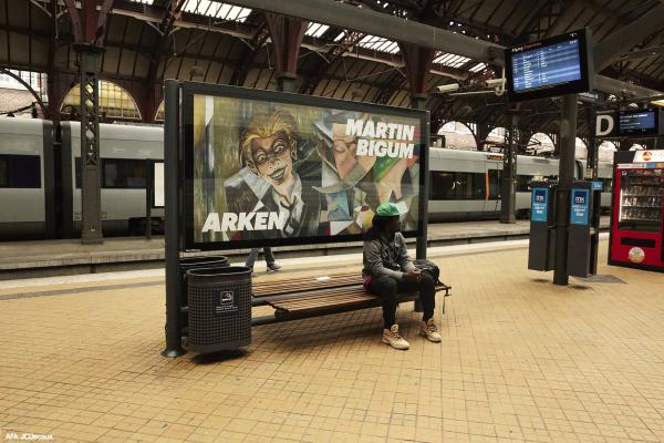 Arken billboard campaign Martin Bigum, 2016-17, The Ocean