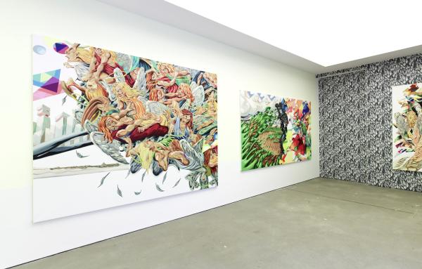 Structure Beneath Skin, Wohnmaschine, Berlin, 2009