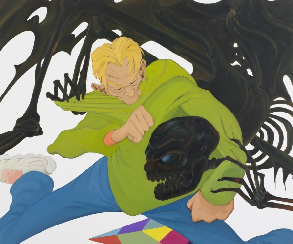 Death Dying, 2006, oil on canvas, 100 x 120 cm, private collection