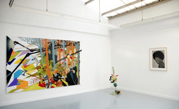 My sweet sixteen, Installation view, Galerie Rodolphe Janssen, Bruxelles, 2007