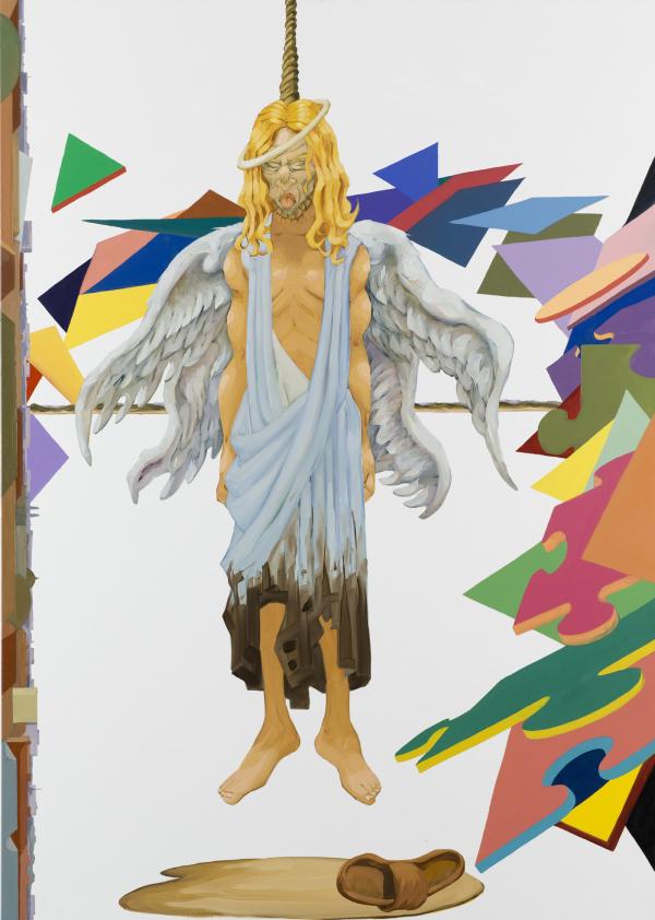 The Island, 2007, oil on canvas, 190 x 135 cm, New Carlsberg Foundation