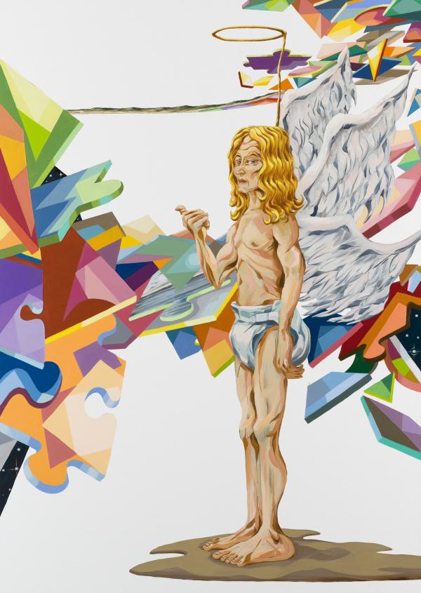 The Challenge, 2007, oil on canvas, 190 x 135 cm, New Carlsberg Foundation