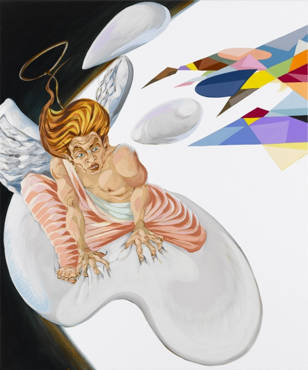 Your Angel, 2008, oil on canvas, 120 x 100 cm, private collection