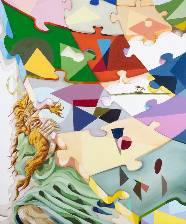 The Last Poetry, 2008, oil on canvas, 120 x 100 cm, private collection