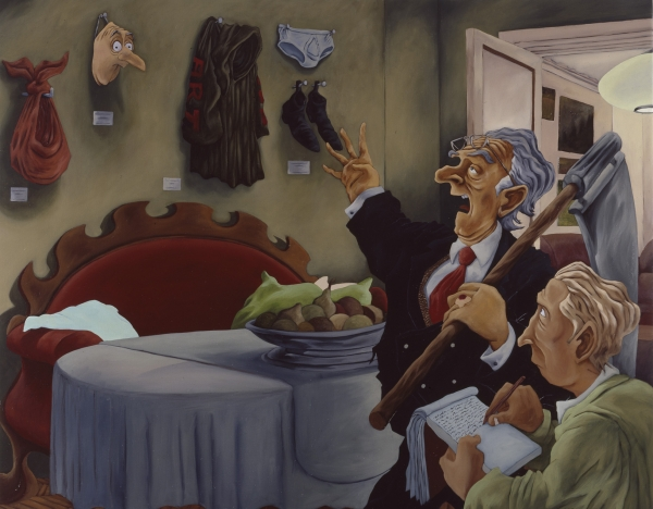 Collectors' Items, 1996, Oil on canvas, 125 x 160 cm, private collection