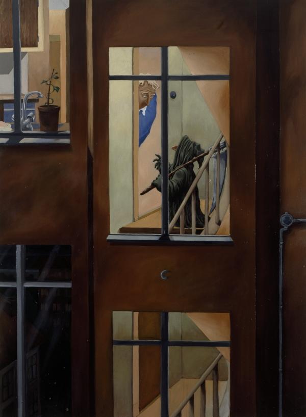Wednesday Evening, 1998, oil on canvas, 180 x 145 cm, HEART- Herning Museum of Modern Art