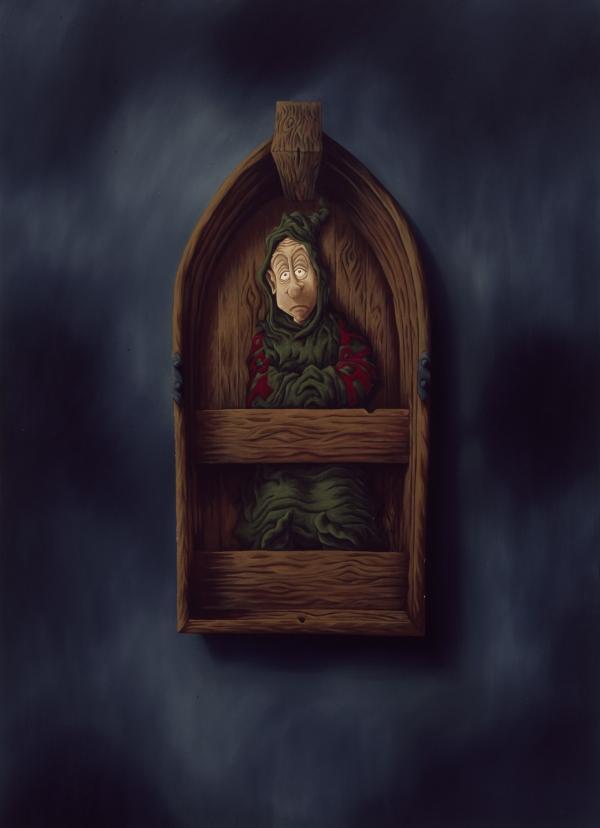 Deadcalm, 1998, oil on canvas, 180 x 145 cm, private collection