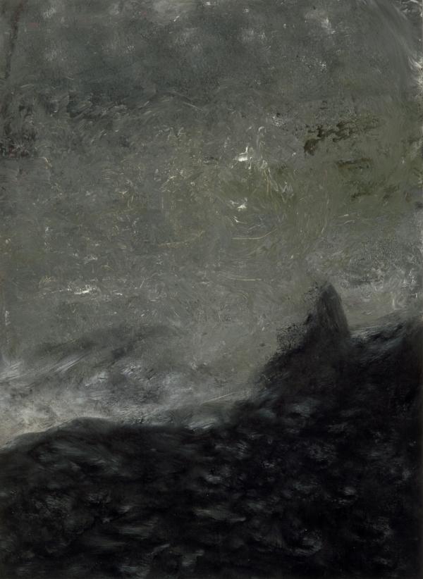 Dreyer, 1992, acrylic on canvas, 100 x 140 cm, Odense Hospital, DK