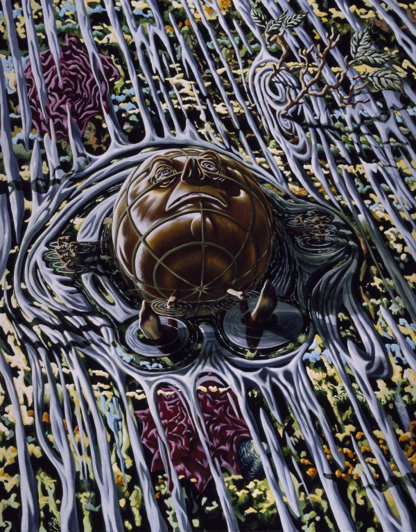 Ophelia, 1994, acrylic on canvas, 180 x 140 cm, private collection