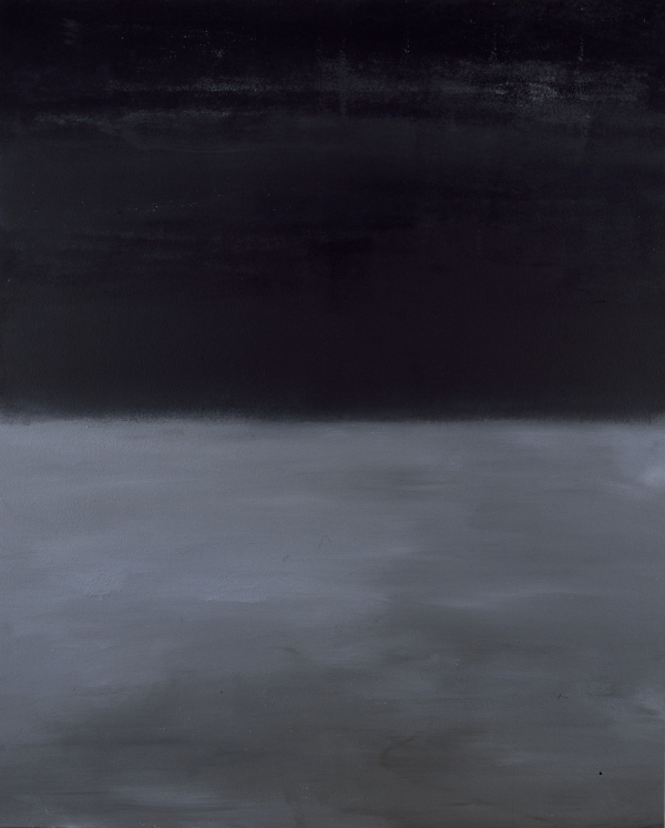 Oblivion, 1994-5, acrylic on canvas, 200 x 160 cm, belongs to the artist