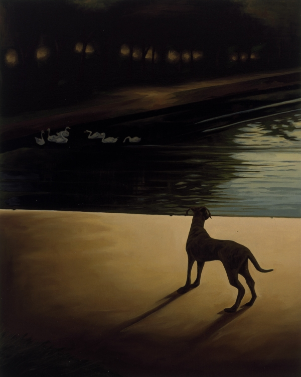 The Romantic Dream, 2001, oil on canvas, 95 x 75 cm, private collection