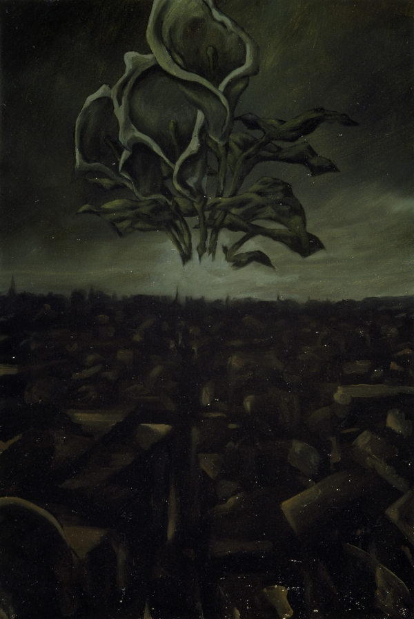 Kalla vision, 1994, oil on canvas, 40 x 25 cm, private collection