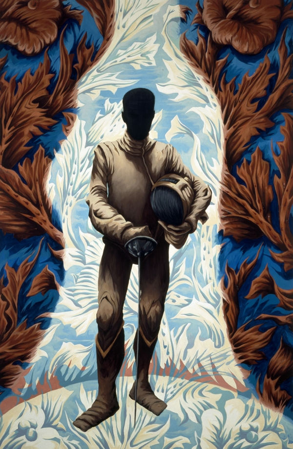 The Shadow, 1999, oil on canvas, 180 x 140 cm, private collection, Holland