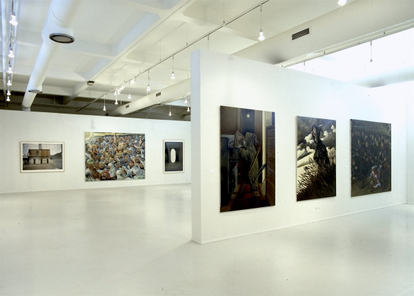 Installation view, The Adventures of ART, from Millennium, Brandts, 1997