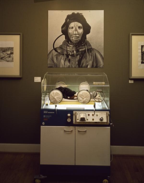 Incubator, installation, Statens Museum for Kunst/Kobberstiksamlingen, 1995