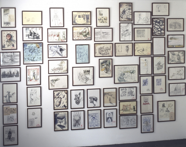 The Homecoming, 1989-2001, sketches and drawings, Nils Stærk Contemporary Art