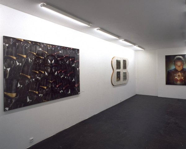 The Homecoming, Installation view, Nils Stærk Contemporary Art, 2001