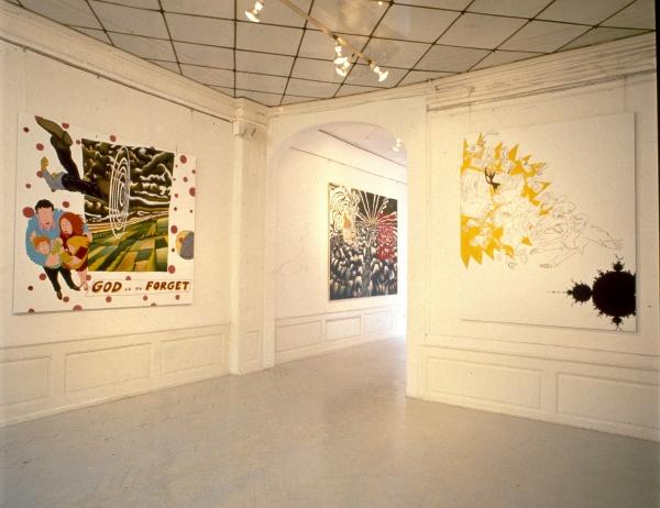 Heartland, installationview, Galerie Pilou Asbæk, 1991, Copenhagen